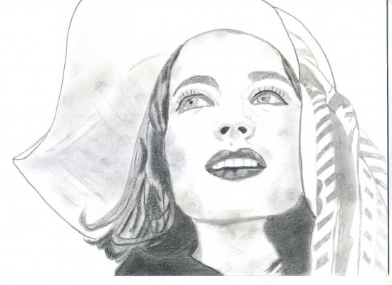 Romy Schneider par Bea